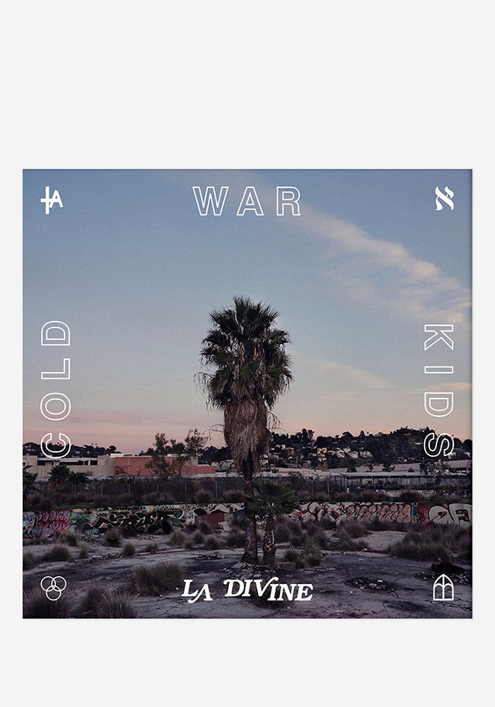 COLD WAR KIDS LA Divine With Autographed CD Booklet