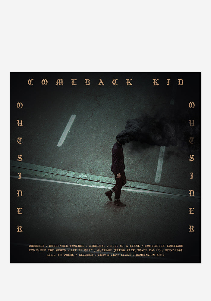 COMEBACK KID Outsider With Autographed CD Booklet