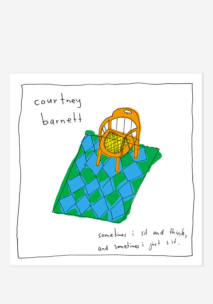 COURTNEY BARNETT Sometimes I Sit And Think, And Sometimes I Just Sit LP