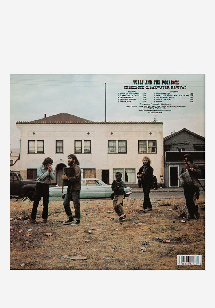 creedence clearwater revival willy the poor boys lp newbury comics. Black Bedroom Furniture Sets. Home Design Ideas