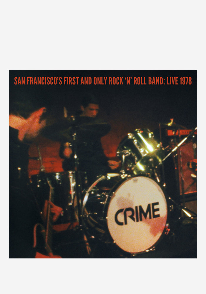 CRIME San Francisco's First And Only Rock 'N' Roll Band: Live 1978 2x7""