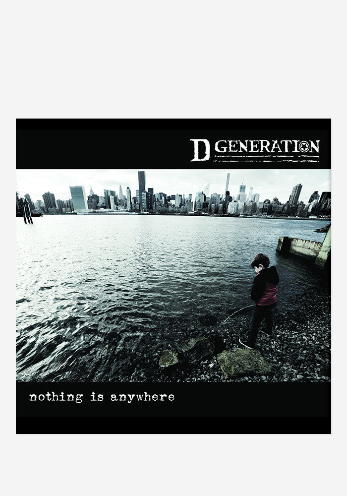 D GENERATION Nothing Is Anywhere With Autographed CD Booklet