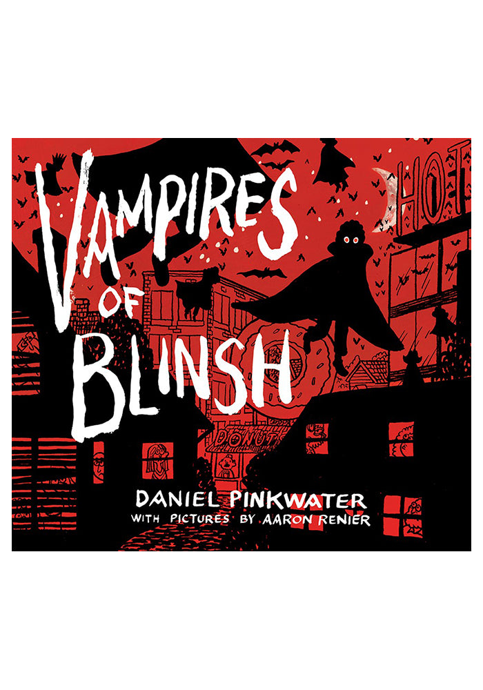 DANIEL PINKWATER Vampires of Blinsh Hardcover Graphic Novel