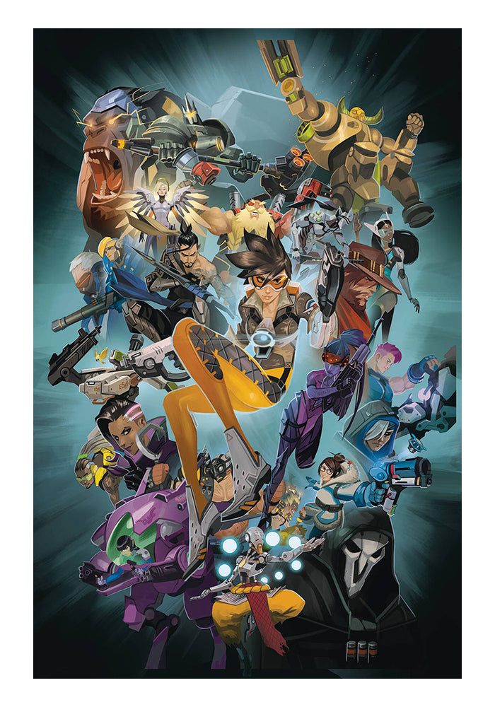 DARK HORSE Overwatch Anthology Vol 1 Graphic Novel