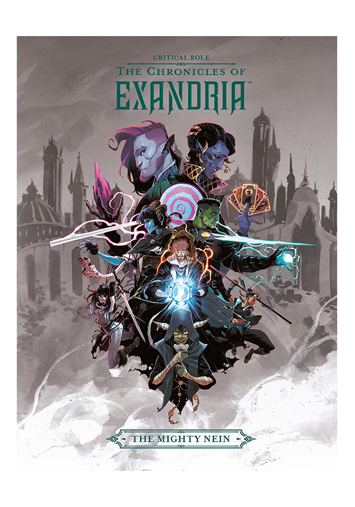DARK HORSE Critical Role: The Chronicles of Exandria The Mighty Nein Hardcover