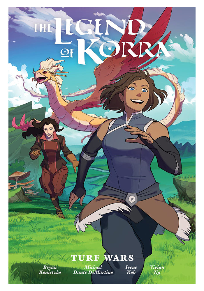 DARK HORSE Legend Of Korra - Turf Wars Library Edition Hardcover Graphic Novel