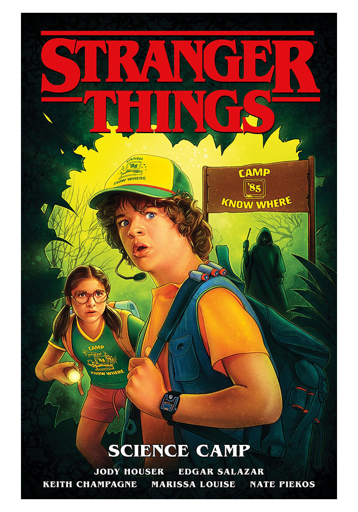 DARK HORSE Stranger Things Vol. 4: Science Camp Graphic Novel