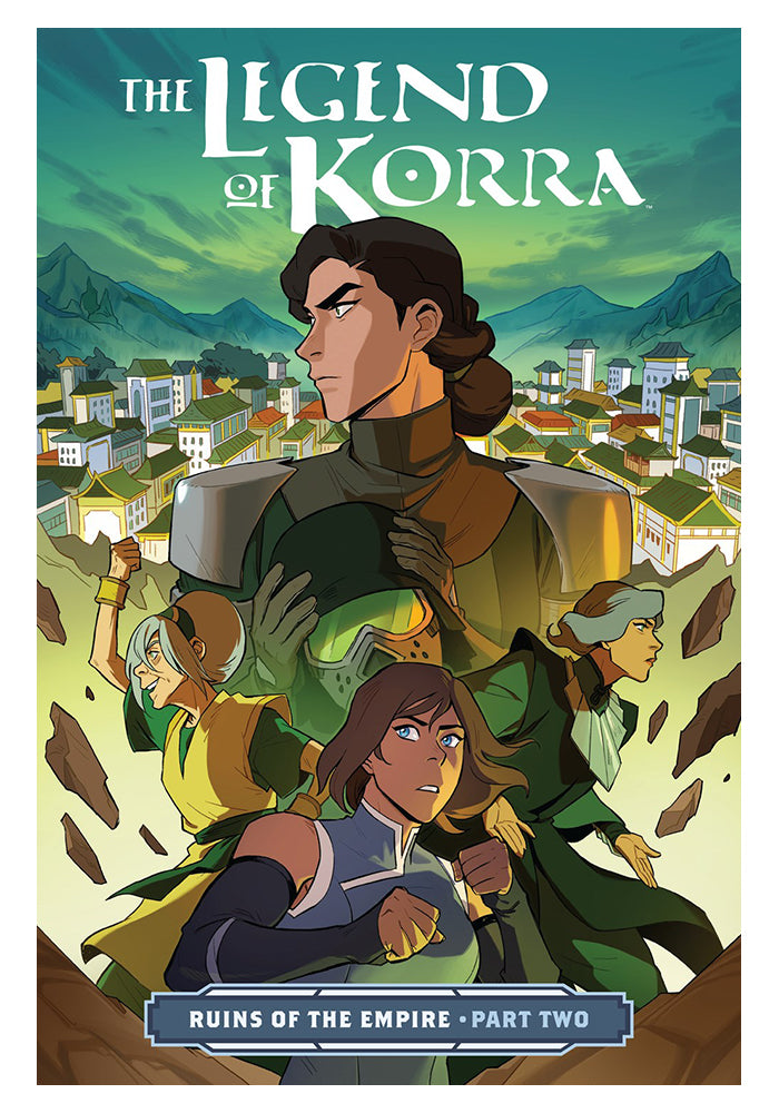 DARK HORSE The Legend Of Korra: Ruins Of The Empire Part 2 Graphic Novel