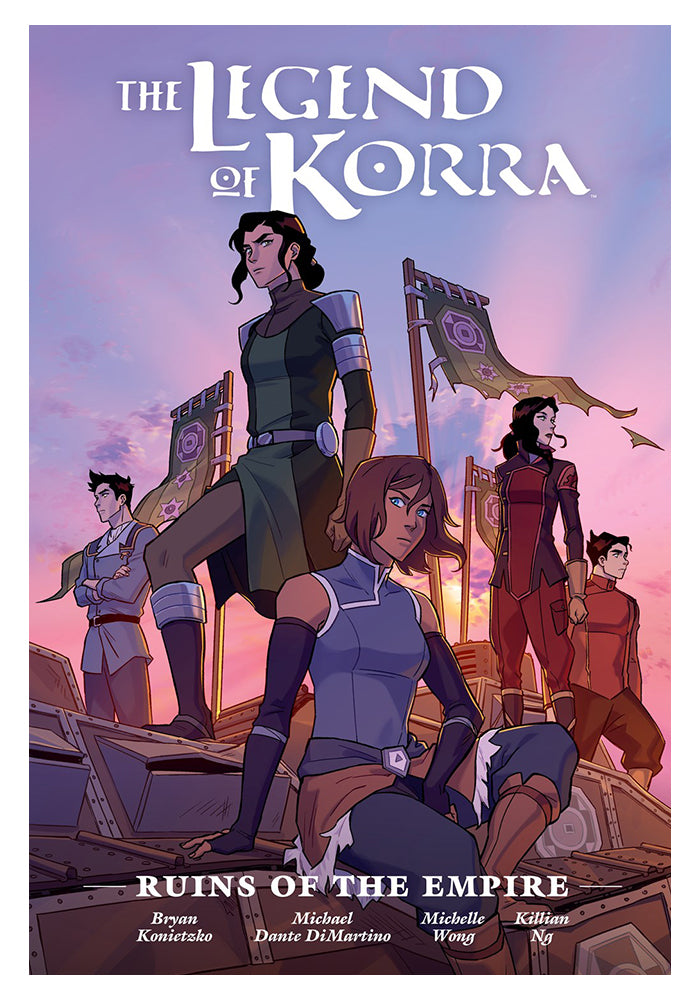 DARK HORSE The Legend of Korra: Ruins of the Empire Library Edition Hardcover Graphic Novel