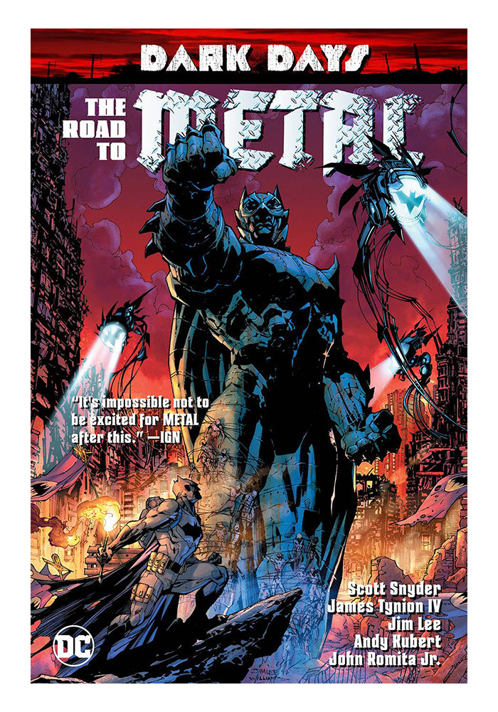 DC COMICS Dark Days: The Road To Metal Graphic Novel