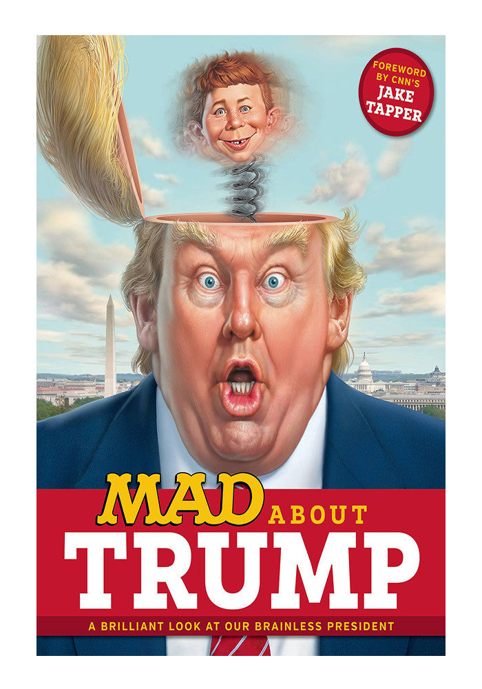 DC COMICS Mad About Trump Graphic Novel