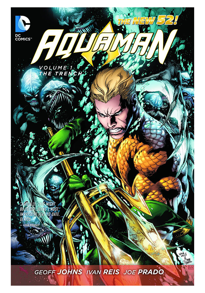 DC COMICS Aquaman Vol. 1: The Trench (The New 52) Graphic Novel