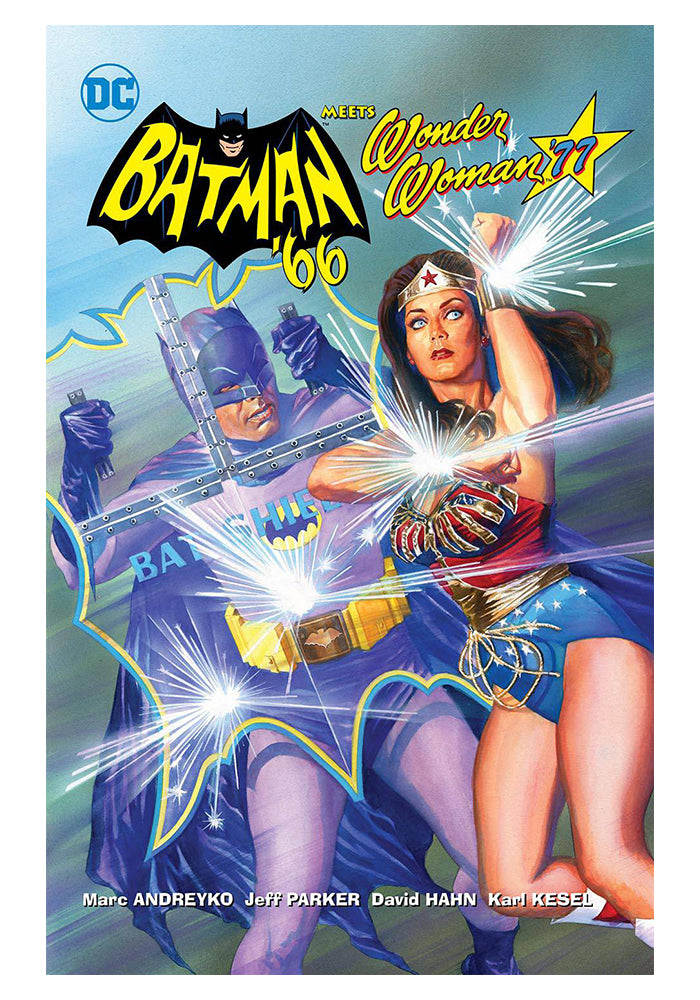DC COMICS Batman '66 Meets Wonder Woman '77 Hardcover Graphic Novel