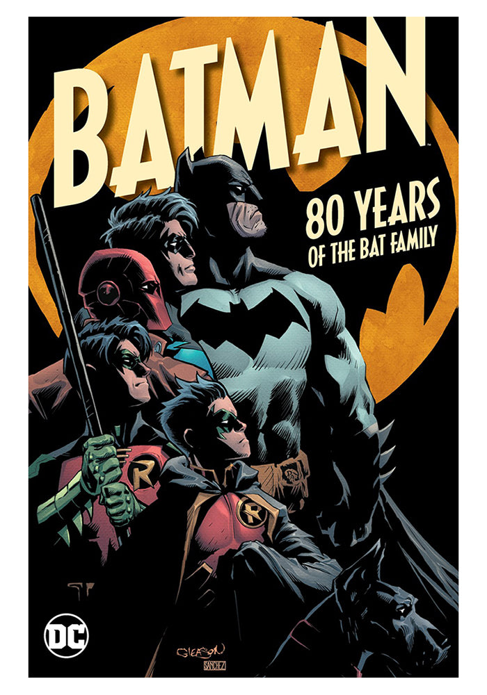 DC COMICS Batman: 80 Years of the Bat Family Graphic Novel