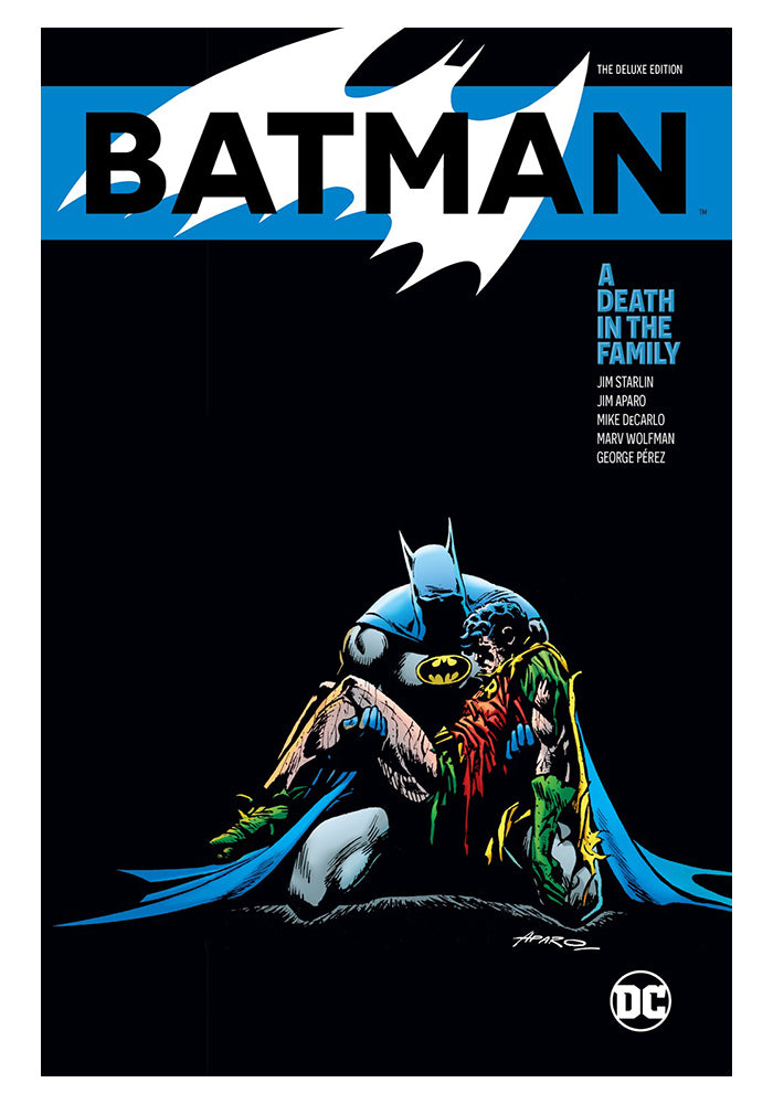 DC COMICS Batman: A Death in the Family Deluxe Edition Hardcover Graphic Novel