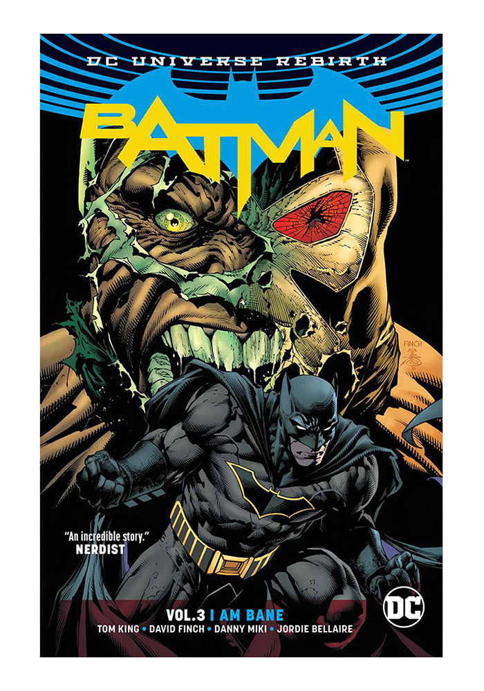 DC COMICS Batman (Rebirth) Vol 3: I Am Bane Graphic Novel