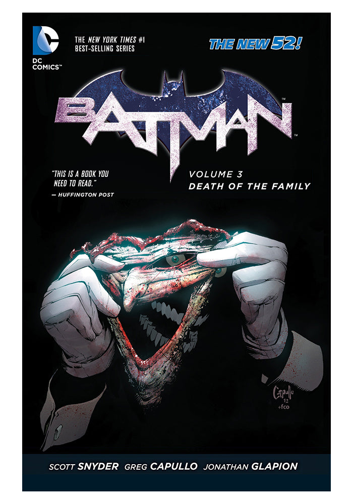 DC COMICS Batman Vol. 3: Death Of The Family (The New 52) Graphic Novel
