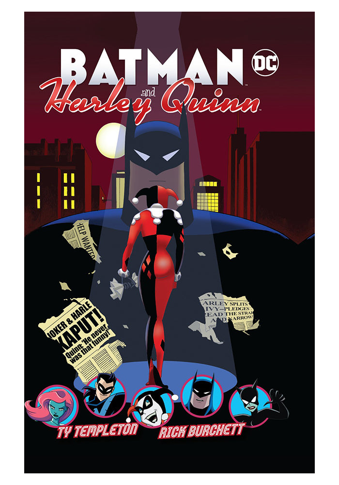 DC COMICS Batman and Harley Quinn Hardcover