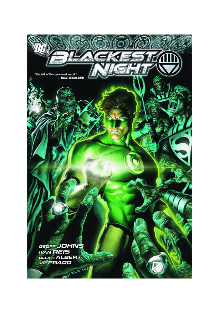 DC COMICS Blackest Night Graphic Novel