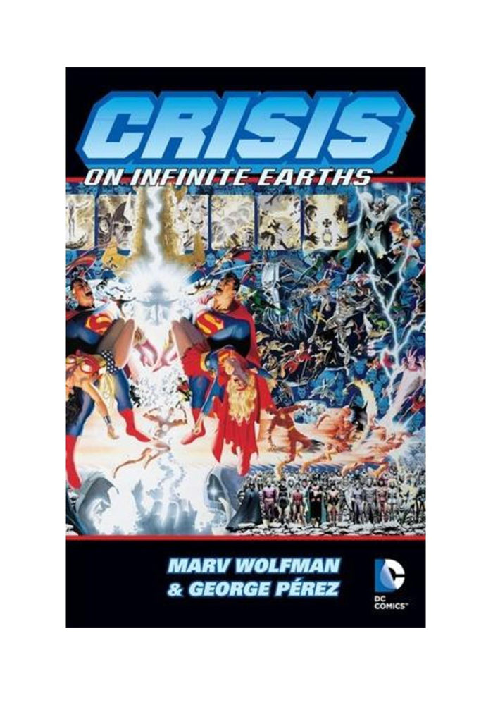 DC COMICS Crisis On Infinite Earths Graphic Novel