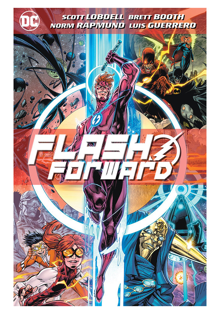 DC COMICS Flash Forward Graphic Novel