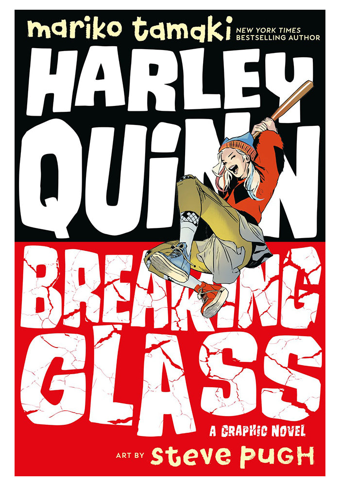 DC COMICS Harley Quinn: Breaking Glass Graphic Novel