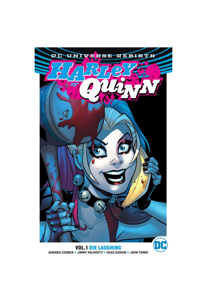 DC COMICS Harley Quinn Vol. 1: Die Laughing (Rebirth) Graphic Novel
