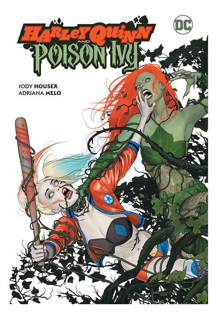 DC COMICS Harley Quinn and Poison Ivy Graphic Novel