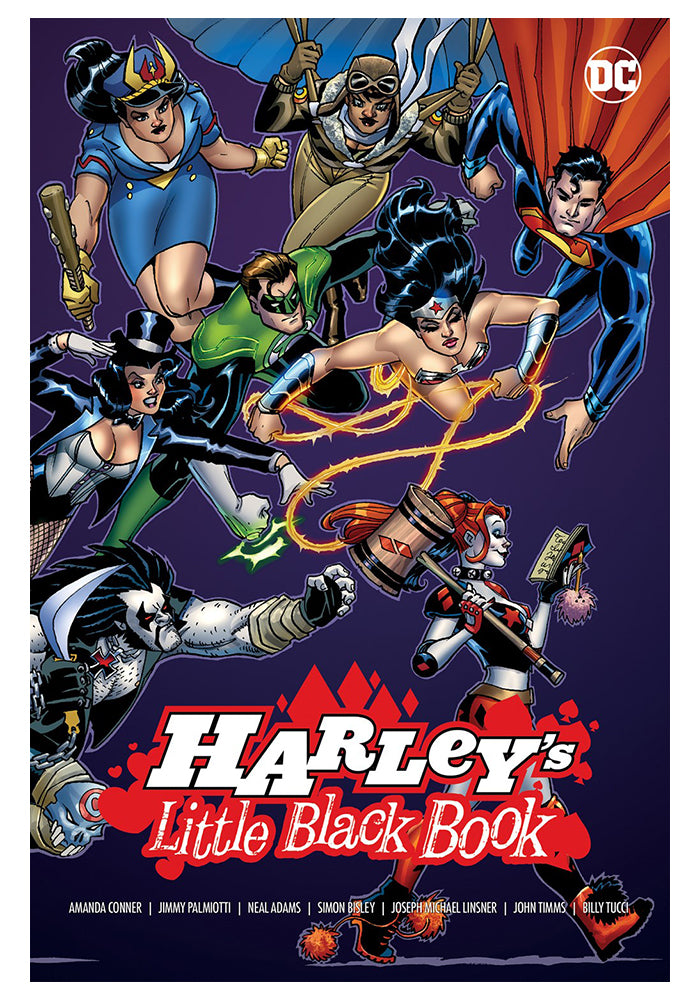 DC COMICS Harley's Little Black Book Hardcover