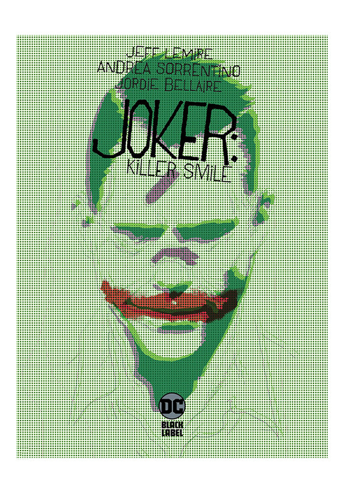 DC COMICS Joker: Killer Smile Hardcover Graphic Novel