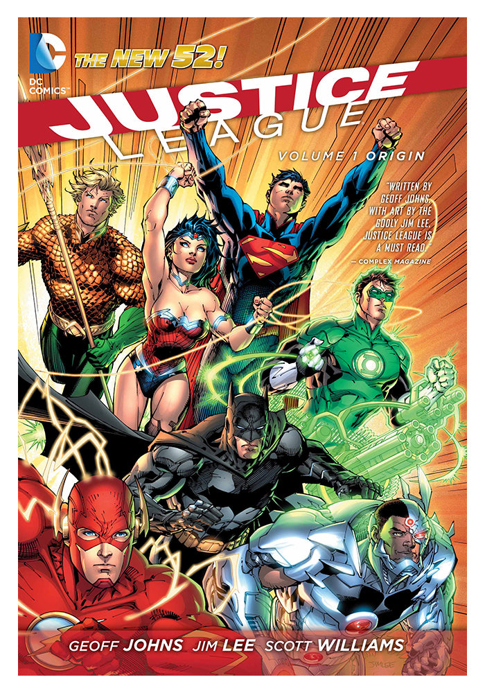 DC COMICS Justice League Vol. 1: Origin (The New 52) Graphic Novel