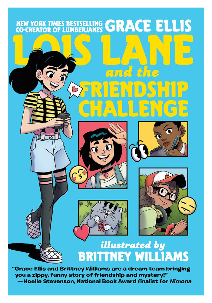 DC COMICS Lois Lane And The Friendship Challenge Graphic Novel