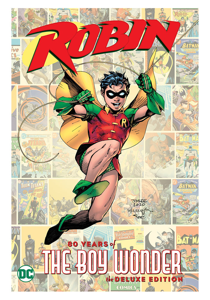 DC COMICS Robin: 80 Years of the Boy Wonder Deluxe Edition Hardcover Graphic Novel