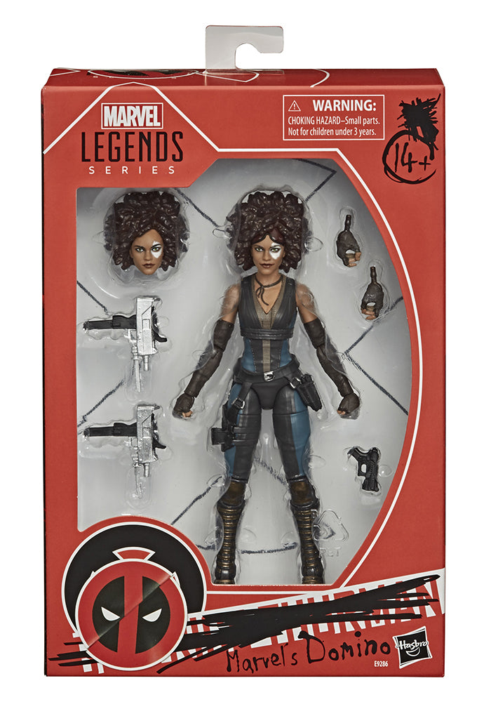DEADPOOL Marvel Movie Legends 6-Inch Action Figure - Domino