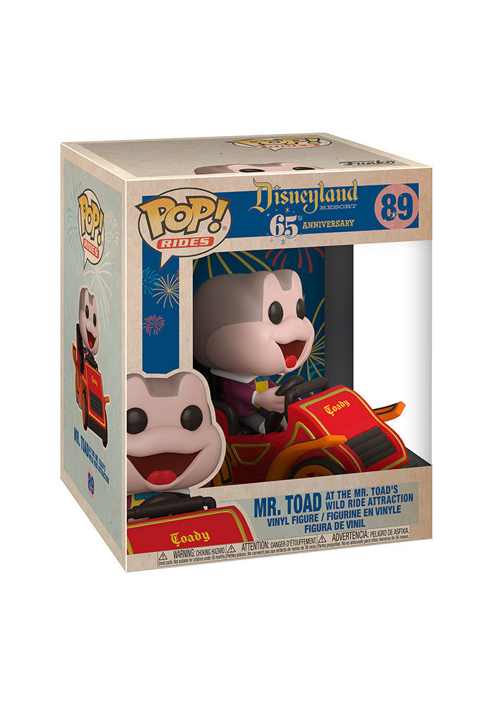 DISNEYLAND Funko Pop! Disney: Disneyland 65th Anniversary Deluxe - Mr. Toad's Wild Ride