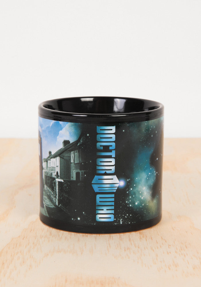 DOCTOR WHO Disappearing Tardis Police Box Mug