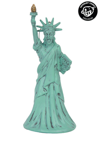 Statue Of Liberty Weeping Angel Ornament