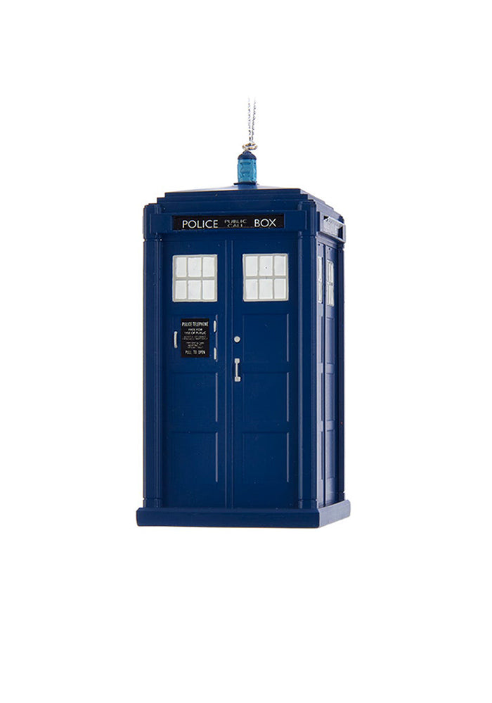 DOCTOR WHO 13th Doctor TARDIS Ornament