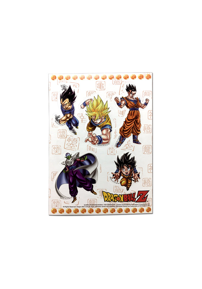 DRAGON BALL Z Dragon Ball Z Special Art Group Sticker Set