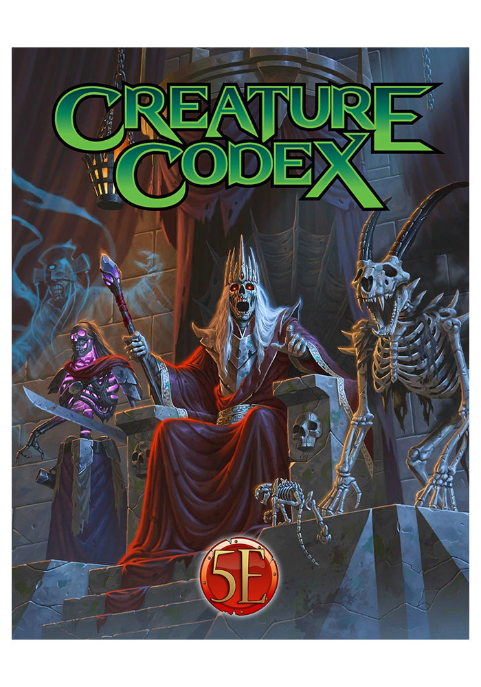 DUNGEONS & DRAGONS Creature Codex 5th Edition Hardcover