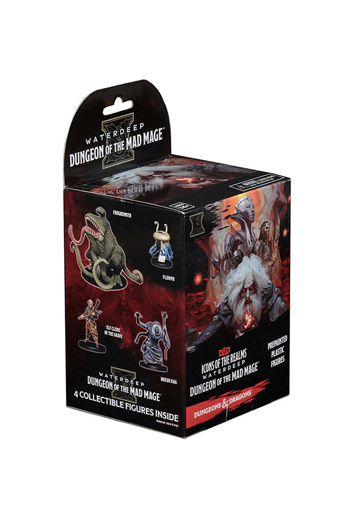 DUNGEONS & DRAGONS D&D Icons of the Realms - Waterdeep: Dungeon of the Mad Mage Miniatures Blind Box