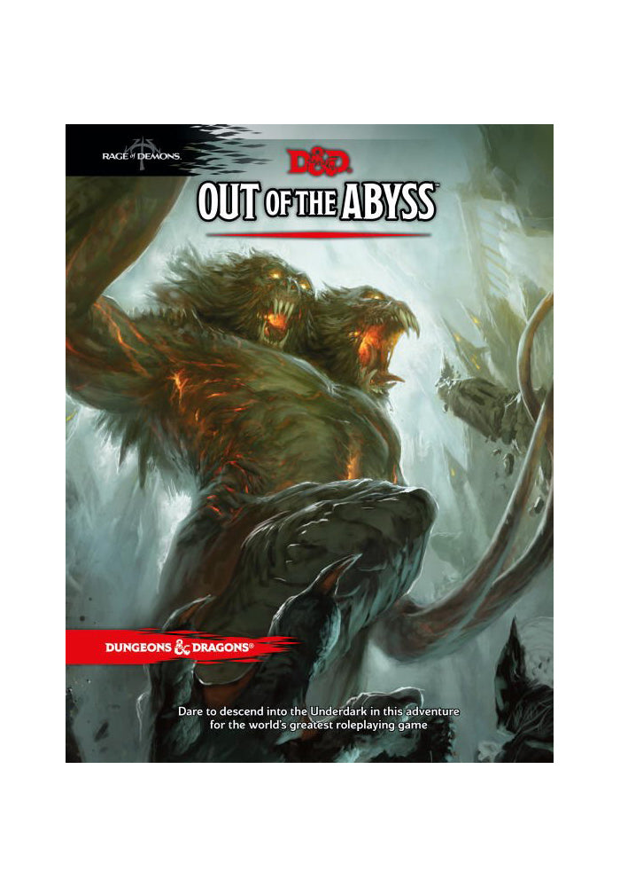 DUNGEONS & DRAGONS Out of the Abyss Hardcover