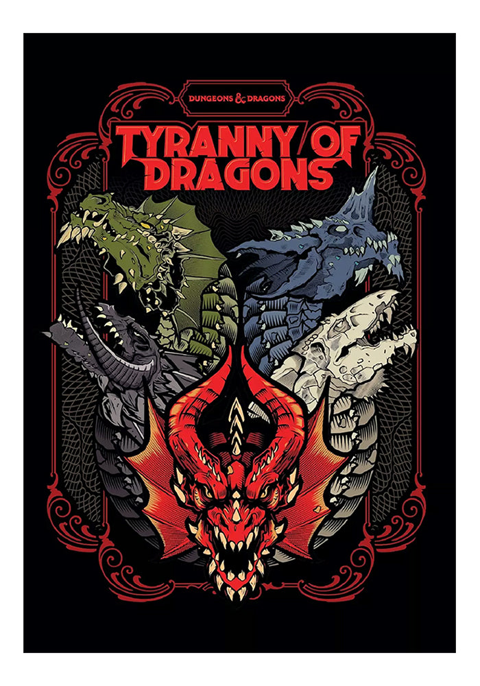 DUNGEONS & DRAGONS Dungeons & Dragons Tyranny of Dragons Hardcover (Alternate Cover)