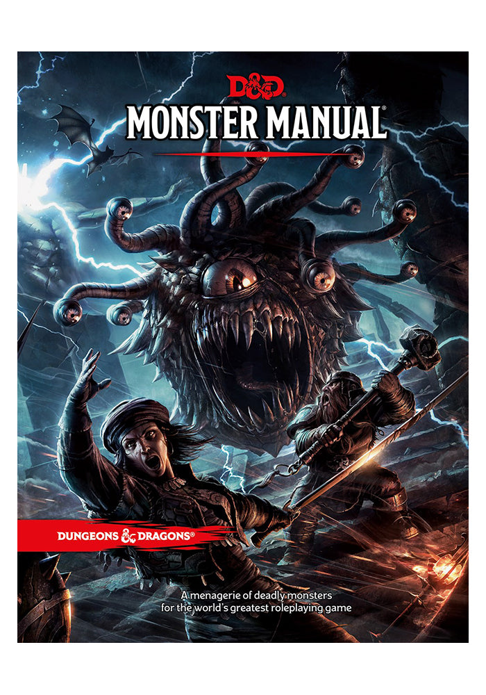 DUNGEONS & DRAGONS Dungeons & Dragons Monster Manual (Core Rulebook)
