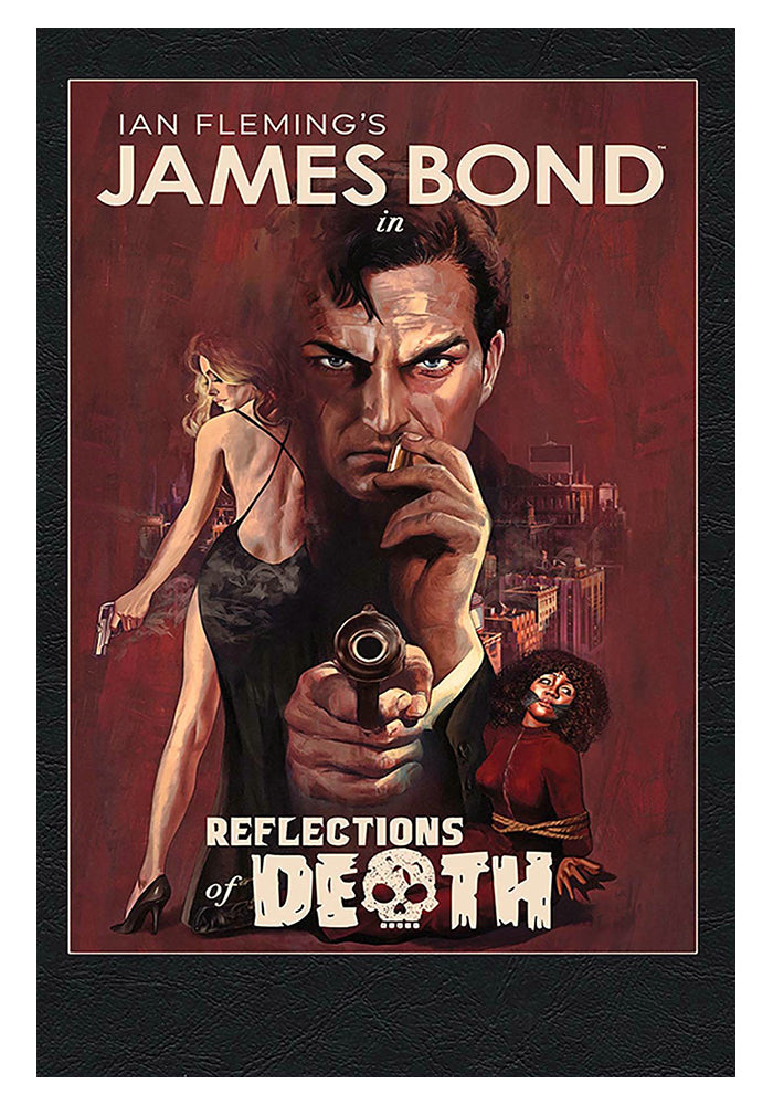 DYNAMITE James Bond: Reflections of Death Hardcover Graphic Novel