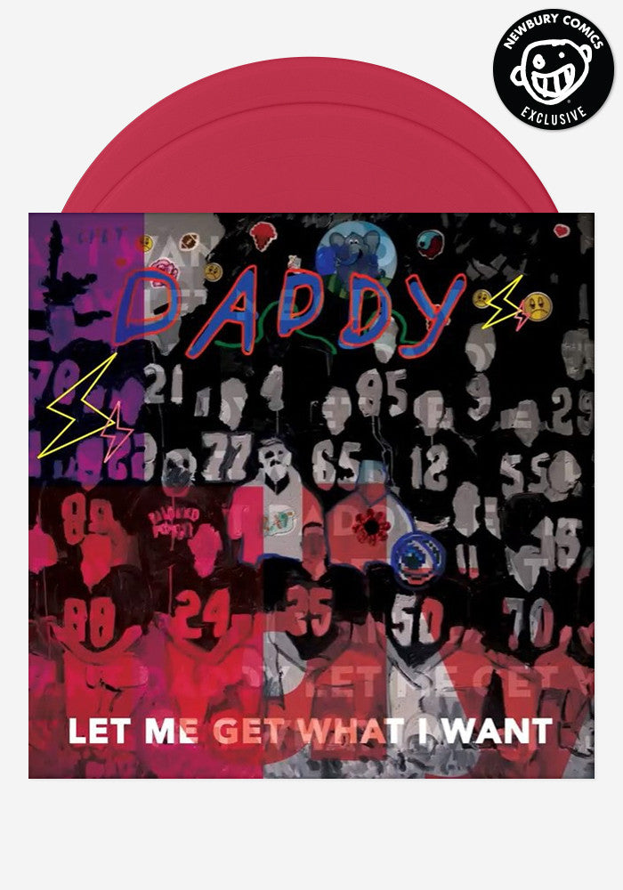 DADDY Let Me Get What I Want Exclusive 2 LP (With Autograph)