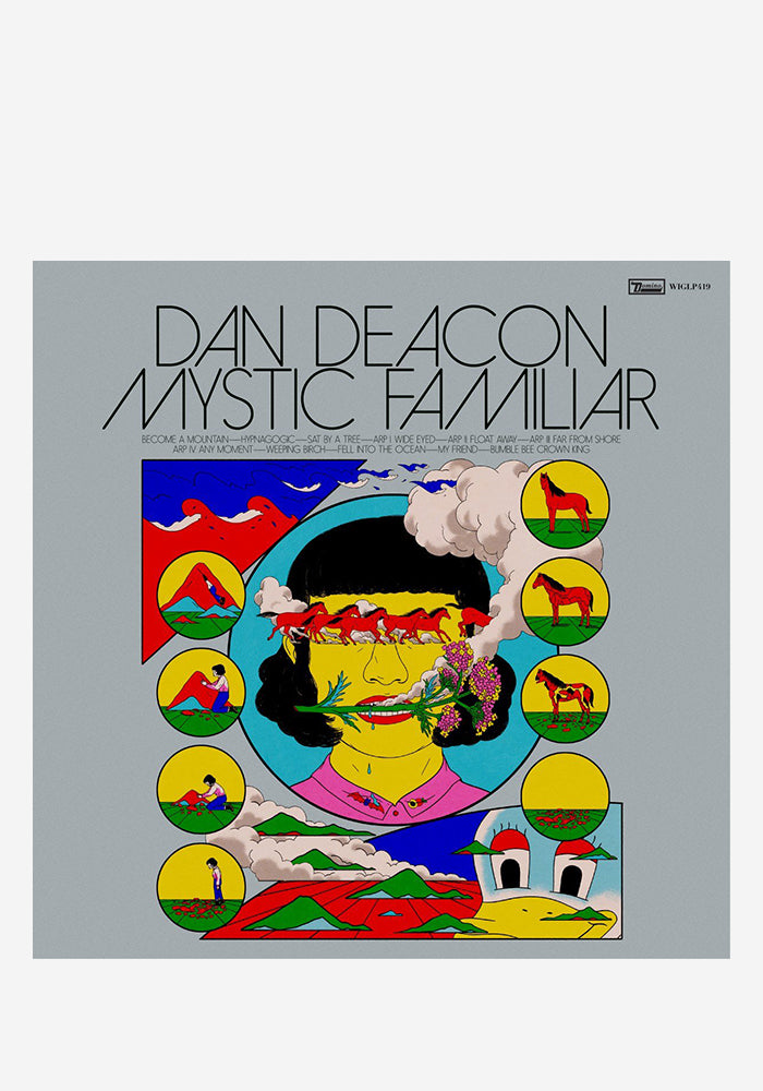 DAN DEACON Mystic Familiar LP (Color)