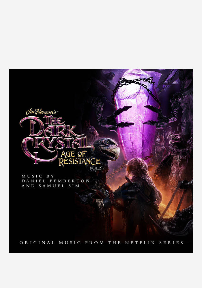 DANIEL PEMBERTON / SAMUEL SIM Soundtrack - The Dark Crystal: Age Of Resistance - The Aureyal LP (Picture Disc)