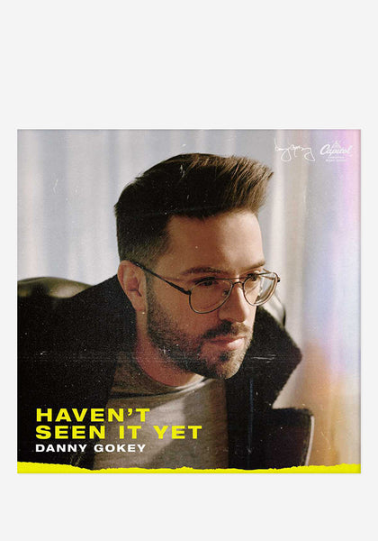 Danny Gokey Haven T Seen It Yet Cd With Autographed