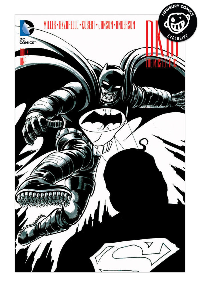 DC COMICS The Dark Knight III: The Master Race #1 Mike Allred Variant Cover (Black & White)